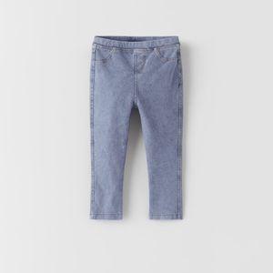 👧🏻NWT ZARA toddler denim leggings